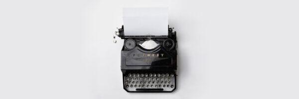 Historie – Schreibmaschine